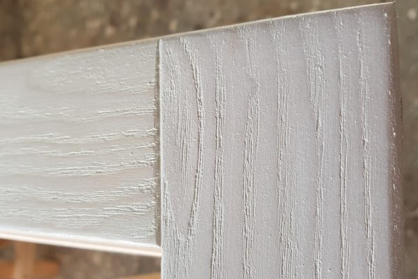 Finestra frassino spazzolato sbiancato